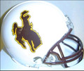 Wyoming Cowboys Mini Replica Helmet