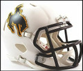 Wyoming Riddell Mini Speed Football Helmeet