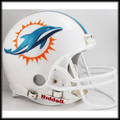 Miami Dolphins 2013 Full Size Authentic Helmet