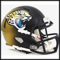 Jacksonville Jaguars 2013 Mini Speed Football Helmet