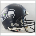 Seattle Seahawks Full Size Authentic Pro Line Helmet with HYDROFX Decal