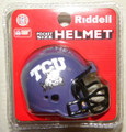 TCU Texas Christian Horned Frogs NCAA Pocket Pro Single Football Helmet