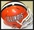Illinois Fighting Illini Riddell NCAA Mini Speed Revolution Helmet