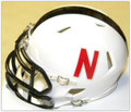 Nebraska Cornhuskers Alternate 2013 Riddell NCAA Mini Speed Revolution Helmet