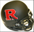 Rutgers Scarlet Knights Schutt Alt Mini Authentic Black