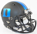 Duke Blue Devils Matte Black Mini Speed Helmet