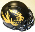 Missouri Tigers Black Matte Big Tiger Head Riddell Mini Speed Helmet