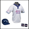 MLB Franklin Youth Kids Team Helmet Set: Atlanta Braves Franklin Youth MLB Kids Team Set
