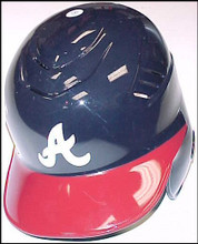 Atlanta Braves Left Flap CoolFlo Authentic Batting Helmet