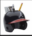 Atlanta Braves Mini Helmet Desk Caddy