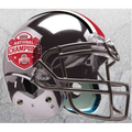 Ohio State Buckeyes 2014 National Champions CHROME Mini Schutt Helmet