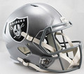 Oakland Raiders NFL Replica SPEED Full Size Helmet
