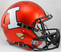 Illinois Fighting Illini NCAA Full Size Replica Speed Helmet