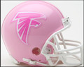 Atlanta Falcons Mini Replica Pink Helmet