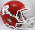 Rutgers Scarlet Knights NCAA Full Size Replica Speed Helmet
