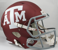 Texas A&M Aggies Maroon NCAA Full Size Replica Speed Helmet