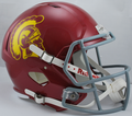 USC Trojans NCAA Full Size Replica Speed Helmet