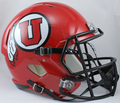 Utah Utes NCAA Full Size Replica Speed Helmet