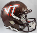 Virginia Tech Hokies NCAA Full Size Replica Speed Helmet