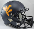West Virginia Mountaineers NCAA Full Size Replica Speed Helmet