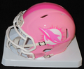 Miami Dolphins Pink Mini Speed Helmet
