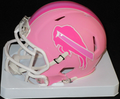 Buffalo Bills Pink Mini Speed Helmet