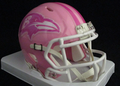 Baltimore Ravens Pink Mini Speed Helmet