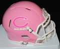 Chicago Bears Pink Mini Speed Helmet