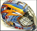 Atlanta Thrashers YOUTH Size Goalie Mask