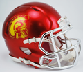 USC Trojans Chrome Mini Speed Helmet