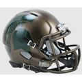Michigan State Spartans Bronze Mini Speed Helmet