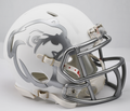 Mississippi State Bulldogs Matte White Mini Speed Helmet