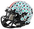 Ohio State Buckeyes 2015 Alternate Black Mini Speed Helmet