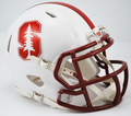 Standford Cardinals Chrome Logo Mini Speed Helmet