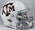 Texas A&M Aggies White Mini Speed Helmet