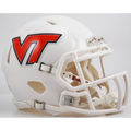 Virginia Tech Hokies White Mini Speed Helmet