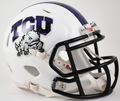 Texas Christian University TCU Horned Frogs 2015 Mini Speed Helmet