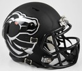 Boise State Broncos Matte Black Mini Speed Helmet