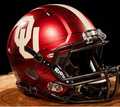 Oklahoma Sooners Bring The Wood Hydro Red Mini Speed Helmet