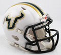 South Florida Bulls White Mini Speed Helmet