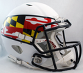 Maryland Terrapins White Flag Authentic Speed Helmet