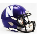 Northwestern Wildcats Full Size Authentic Speed Helmet