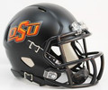 Oklahoma State Cowboys Matte Black Full Size Authentic Speed Helmet
