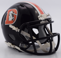 Denver Broncos NFL Riddell 2016 Color Rush Mini Speed Football Helmet