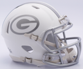 Green Bay Packers NFL Riddell Ice Mini Speed Football Helmet