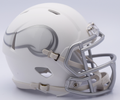 Minnesota Vikings NFL Riddell Ice Mini Speed Football Helmet