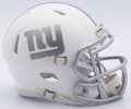 New York Giants NFL Riddell Ice Mini Speed Football Helmet