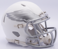 Philadelphia Eagles NFL Riddell Ice Mini Speed Football Helmet