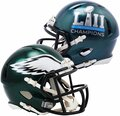 Philadelphia Eagles Super bowl 52 Champs mini speed