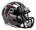 "2018 ""CHROME"" ATLANTA FALCONS FULL SIZE SPEED REPLICA HELMET"